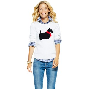 SCOTTIE INTARSIA SWEATER