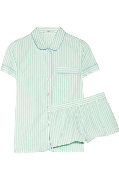 J.CREW-Vintage cotton pajama set