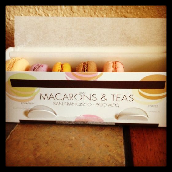 How I ended my Sunday evening-with macaroons