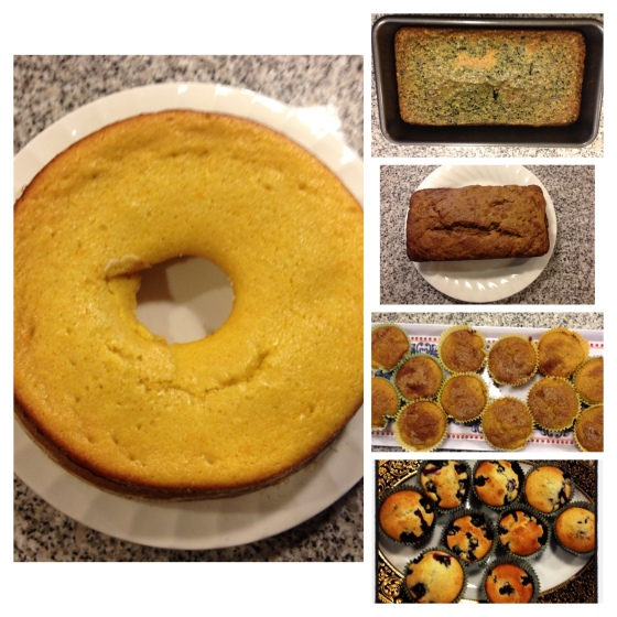 Our baking results