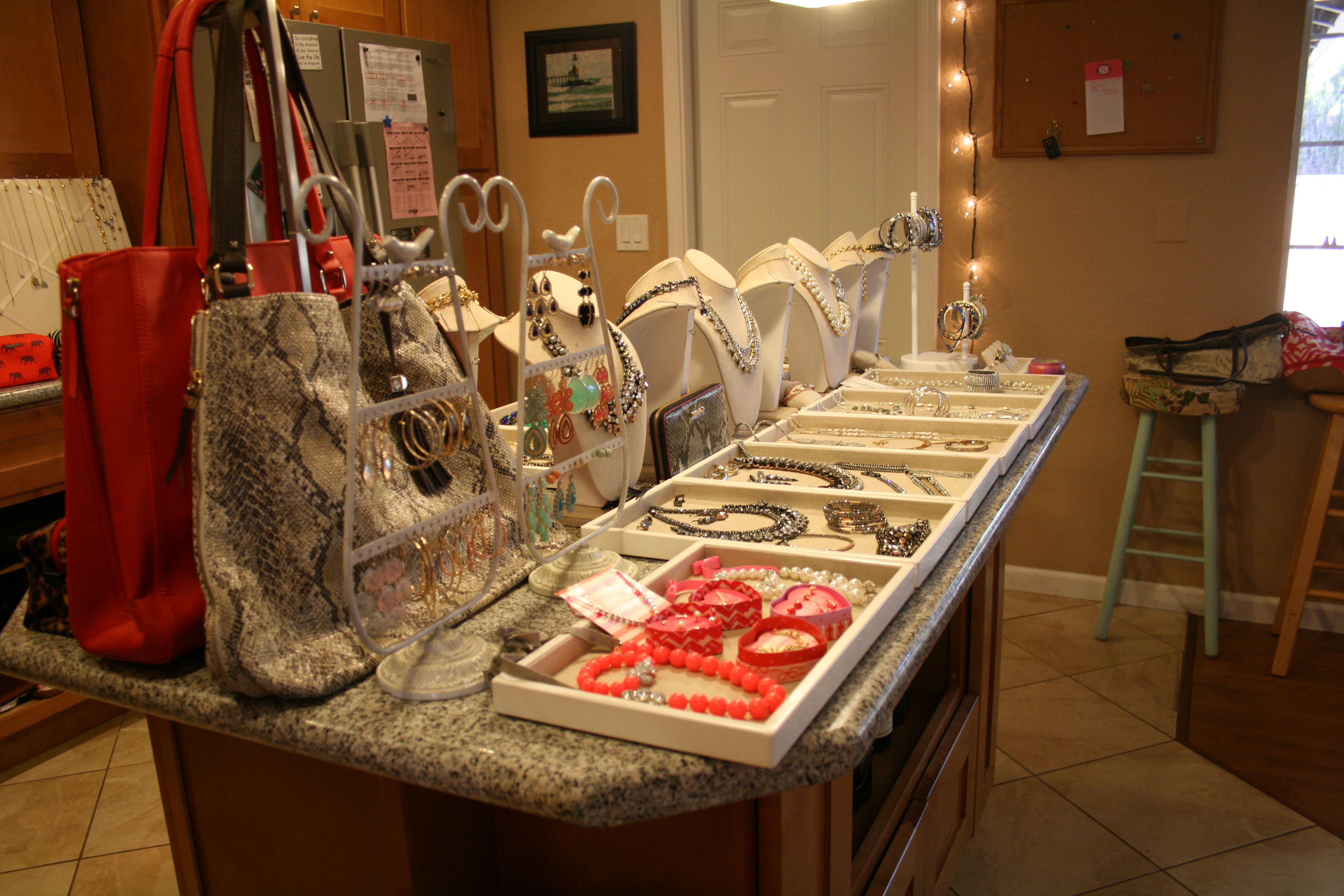 Sandy And Maryah S Stella And Dot Trunk Show Classy And