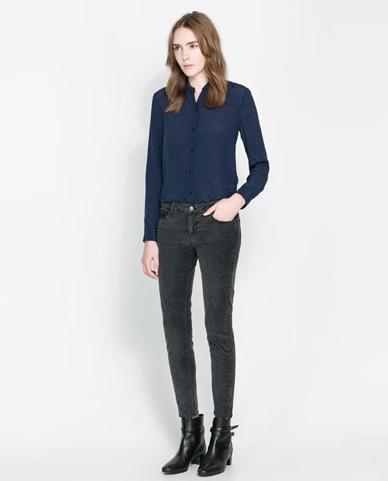 Zara Skinny Cord