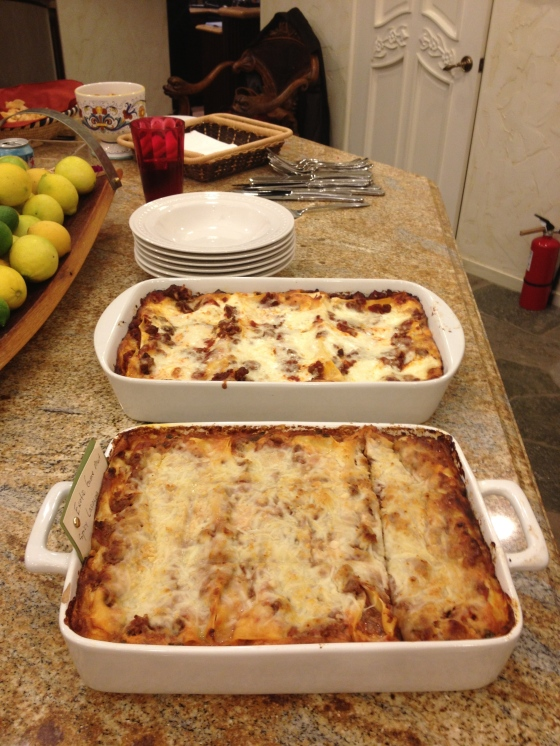 Lasagna Board Game Night