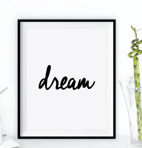 Dream on Etsy