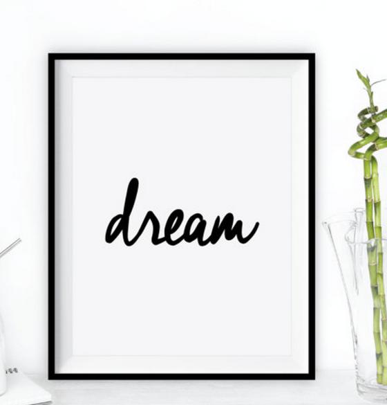 Dream on Etsy