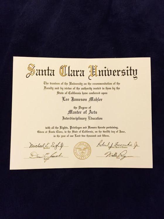 Master's Diploma